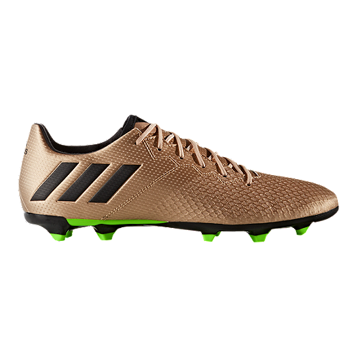 adidas Men's Messi 16 3 FG Outdoor Soccer Cleats - Copper/Black