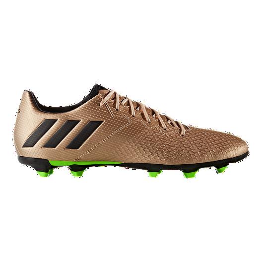 c05e48493dc adidas Men's Messi 16.3 FG Outdoor Soccer Cleats - Copper/Black/Green |  Sport Chek
