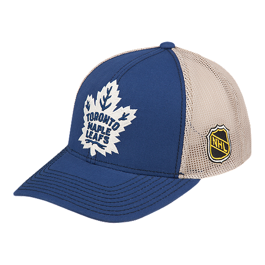 639614b9c56 Toronto Maple Leafs CCM New Leaf Meshback Trucker Cap