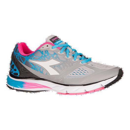 detailed look 54ada 25646 Diadora Women s Mythos BluShield Running Shoes - Grey Blue Pink   Sport Chek