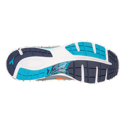 627e43efd3c Diadora Men s Mythos BluShield Running Shoes - Blue Grey Orange ...