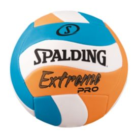 Spalding Extreme Pro Volleyball - Blue/Orange Swirl