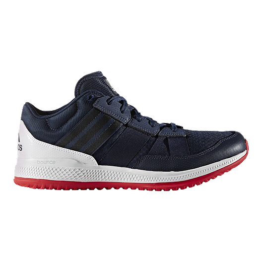 8dc6f93bf17a4 adidas Men s ZG Bounce Training Shoes - Navy White
