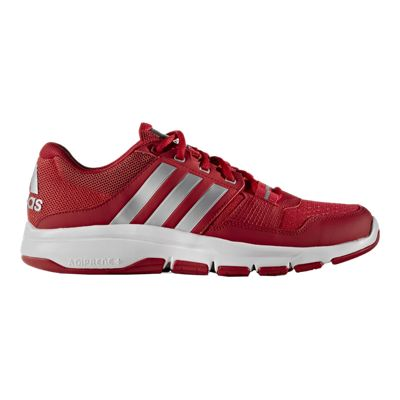 adidas Men's Gym Warrior 2 Training Shoes - Red/White