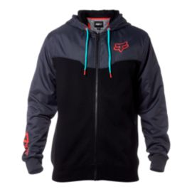Fox Men's Rotated Full Zip Hoodie