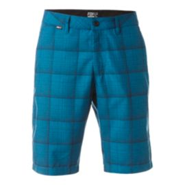 Fox Men's Essex Plaid 21 Inch Tech Shorts