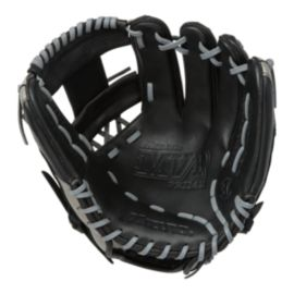 "Mizuno MVP Prime Special Edition 11.5"" Baseball Glove - Black/Smoke"