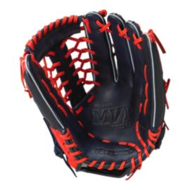 "Mizuno MVP Prime Special Edition 12.75"" Baseball Glove - Navy/Red"