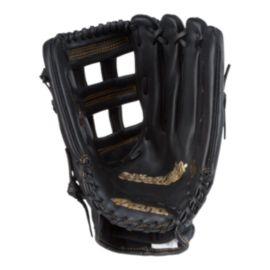 "Mizuno World Win 13"" Softball Glove - Black/Gold"