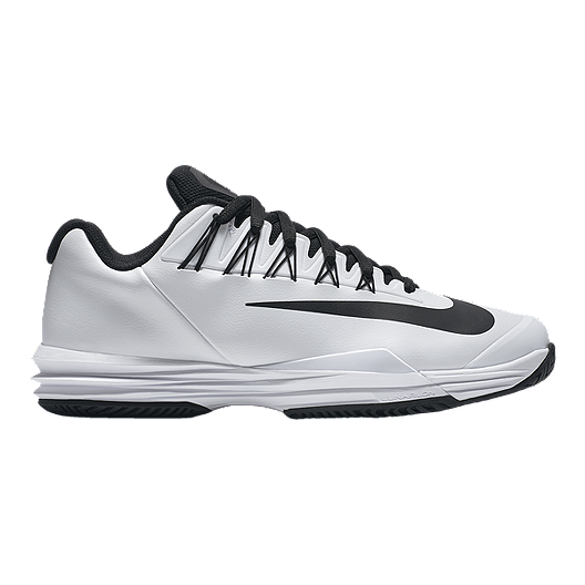 89db68049bc1 Nike Men s Lunar Ballistec 1.5 Tennis Shoes - White Black Grey ...