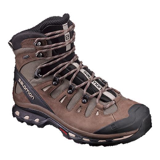 63804b0e9ec Salomon Men's Quest 4D 2 GTX Hiking Shoes - Brown/Black | Sport Chek