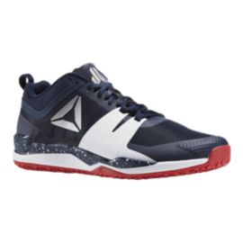 Reebok Men's JJ One Training Shoes - Navy/Red/White