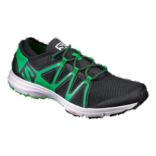a489a1a5be9d Salomon Men s CrossAmphibian Swift Sandals - Black Green