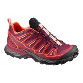 Salomon Women's X-Ultra 2 GTX Hiking Shoes - Red/Flame