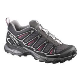 Salomon Women's X-Ultra 2 Hiking Shoes - Asphalt/Black/Hot Pink