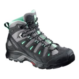 Salomon Women's Quest Prime GTX® Hiking Boots - Detroit/Green
