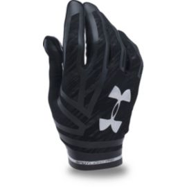Under Armour Spotlight Pro Football Gloves-Black