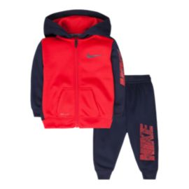 Nike Baby Boys' Therma-Fit Ko Full Zip Hoodie & Pant Set