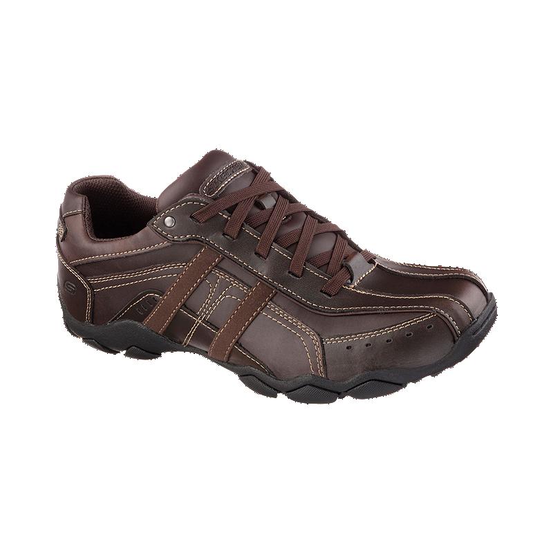 04d67804e399 Skechers Men s Diameter Murilo Lace Casual Shoes - Brown
