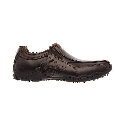 08b820d2dc58 Skechers Men s Diameter Zinroy Slip Casual Shoes - Brown