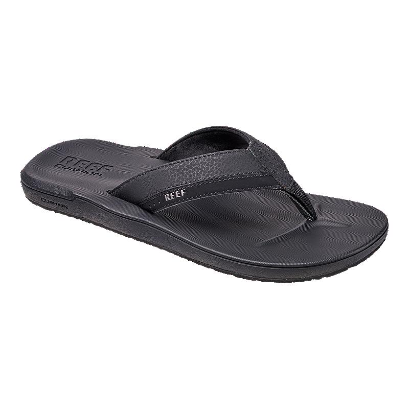 fdccfc218589 Reef Men s Contoured Cushion Sandals - Black