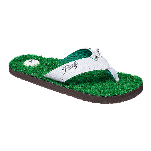 1bbdbccd7a6 Reef Men s Mulligan II Sandals - Green White