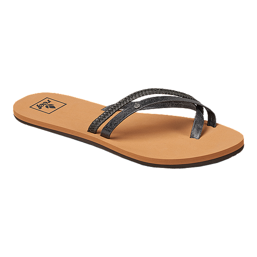 71a66a0a0caa Reef Women s O Contrare LX Sandals - Black