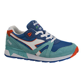 Diadora Men's N9000 Suede Shoes - Blue/Capri