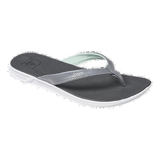 456178700f15 Reef Women s Rover Catch Sandals - Grey