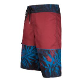 O'Neill Castaway Men's Boardshorts - Dark Red