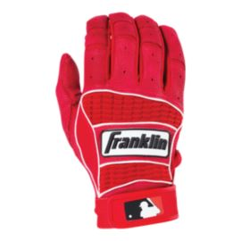 Franklin Neo Classic II Batting Glove - Pearl/Red