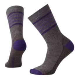 Smartwool Striped Hike Medium Women's Crew Socks
