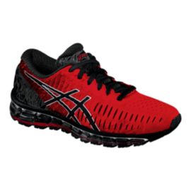 ASICS Men's Gel Quantum 360 Running Shoes - Red/Black