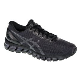 ASICS Men's Gel Quantum 360 Running Shoes - Black/Silver