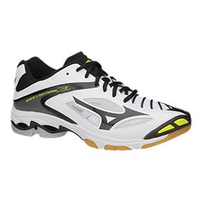 purchase cheap 6a77e d4069 Mizuno Mens Wave Lightning Z3 Indoor Court Shoes - WhiteBlack