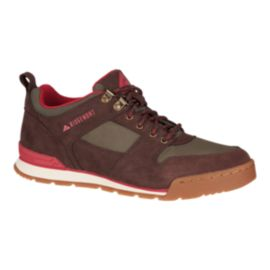 Ridgemont Men's Monty Low (Suede) Casual Shoes - Brown/Olive