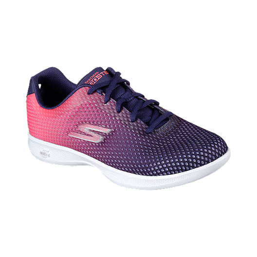 79cc0d3893f2 Skechers Women s Go Step Lite Walking Shoes - Purple Pink