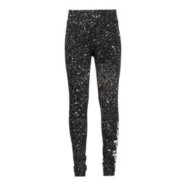 adidas Girls' Essentials Linear Printed Tights