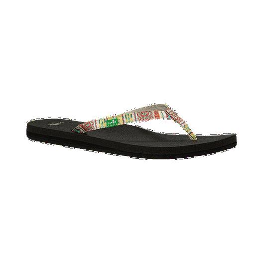 88cf6681bceb Sanuk Yoga Joy Funk Citrus Women s Sandals