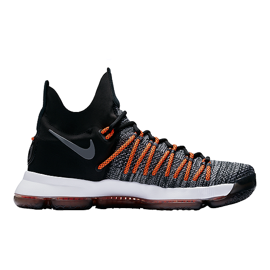 the best attitude 3ae0b de01e Nike Men s KD 9 Elite Basketball Shoes - Black Grey Orange