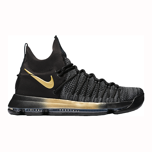 1c3d0ee507d2 Nike Men s KD 9 Elite Basketball Shoes - Black Yellow Blue