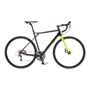 GT Grade Aluminum Claris Men's Gunmetal Road Bike - 2017