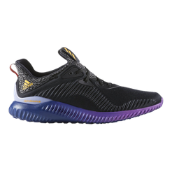 adidas Men s Alphabounce Running Shoes - Black Purple Gold  b0dfc23d5