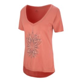 O'Neill Women's Modal Wild Lotus V-Neck T Shirt