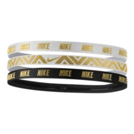 Nike Women's Metallic Hairband - 3-Pack
