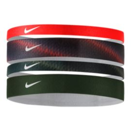 Nike Women's Printed Assorted Headbands - 4-Pack