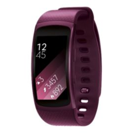 Samsung Gear Fit2 GPS with Heart Rate Monitor - Pink Large