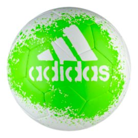 adidas X Glider Size 5 Soccer Ball - White/Green