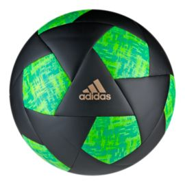 adidas X Size 5 Soccer Ball - Core Black/Green