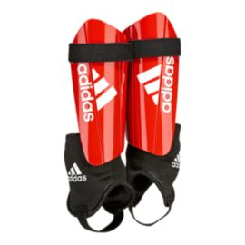 adidas Ghost Club Shin Guards - Red/White